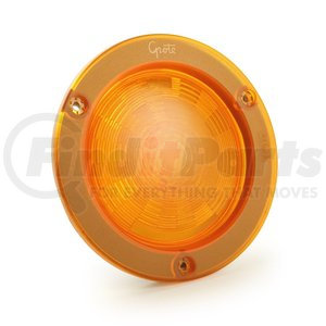 """54573 by GROTE - SuperNova® 4"""" NexGen™ LED Stop / Tail / Turn Light - Integrated Flange w/ Gasket, Hard Shell"""