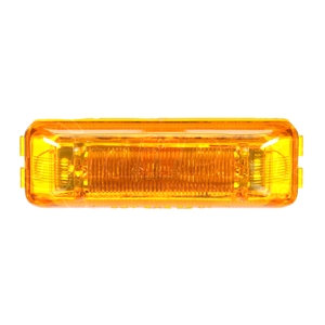19350Y by TRUCK-LITE - Yellow LED P2 Lamp w/ Fit 'N Forget Connection