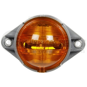 20309Y by TRUCK-LITE - Incandescent, Yellow Round, 1 Bulb, Side Turn Signal, Bracket Mount, Hardwired, .180 Bullet, 12V, Kit