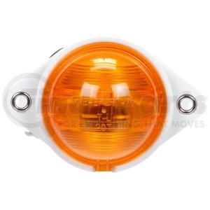 20316Y by TRUCK-LITE - Incandescent, Yellow Round, 1 Bulb, Side Turn Signal, Bracket Mount, Hardwired, .180 Bullet, 12V