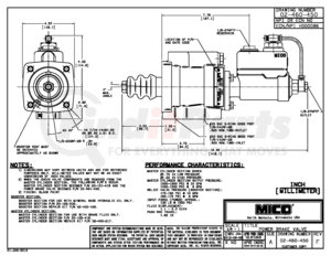 02-460-450 by MICO - BRAKE VALVE (Please allow 7 days for handling. If you wish to expedite, please call us.)