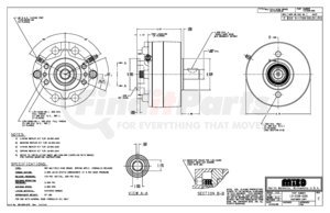 13-538-026 by MICO - 3A-101035-M A-BRAKE (Please allow 7 days for handling. If you wish to expedite, please call us.)