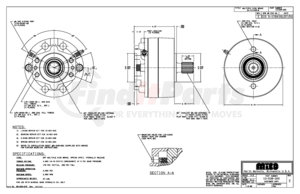 13-538-300 by MICO - 3A-141448-M A-BRAKE (Please allow 7 days for handling. If you wish to expedite, please call us.)