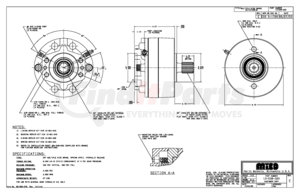13-538-320 by MICO - 3A-141490-M A-BRAKE (Please allow 7 days for handling. If you wish to expedite, please call us.)