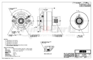 13-538-384 by MICO - 3A-141435-M A-BRAKE (Please allow 7 days for handling. If you wish to expedite, please call us.)
