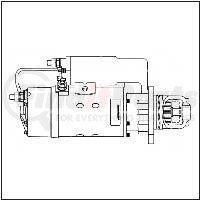 M0017265ME by LEECE NEVILLE - Heavy Duty Starter Motor