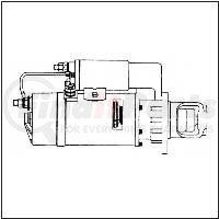 M0017401ME by LEECE NEVILLE - Heavy Duty Starter Motor