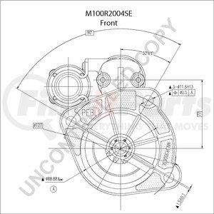 M100R2004SE by LEECE NEVILLE - Heavy Duty Starter Motor