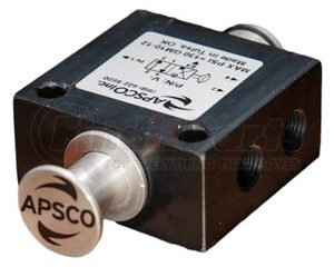 V-8 by APSCO - 2-Position Push-Pull 4-Way Valve / 4 Port
