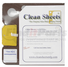 CS100 by CLEAN SHEETS - G.GARY HOLT ENTERPRISES - 12 X 12 Disposable Paper Mixing Board
