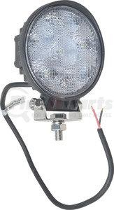 """550-10004 by J&N - Work Light, 12/24V, LED, 550 Lumens, White, 4.50"""", Flood"""