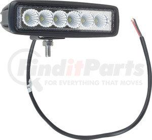 """550-10014 by J&N - Work Light, 12/24V, LED, 1000 Lumens, White, 6.2"""" x 1.75"""", Flood"""