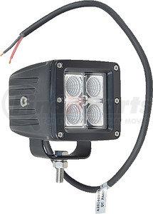 """550-10021 by J&N - Work Light, 12/24V, LED, 560 Lumens, White, 3"""", Flood, Wide"""