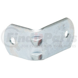 607967 by RETRAC MIRROR - Right Angle Bracket, Zinc Plated, 1/4in. Hole