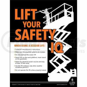 50757 by JJ KELLER - Reminds employees of key issues related to construction safety and training.