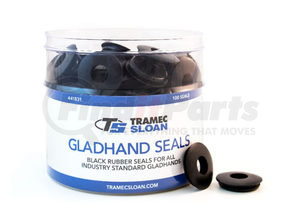 441831 by TRAMEC SLOAN - GLADHAND SEAL BUCKET, 100 RUBBER GLADHAND SEALS (441749)