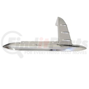 C4021 by UNITED PACIFIC - 1953-54 Stainless Gas Door Guards