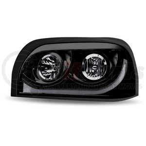 TLED-H15 by TRUX - Freightliner Century Halogen Headlight Assembly with LED Strip (Driver Side)