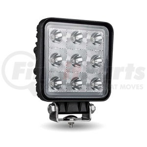 TLED-U93 by TRUX - Universal Square Epistar LED Spot Work Lamp (9 Diodes | 1350 Lumens)