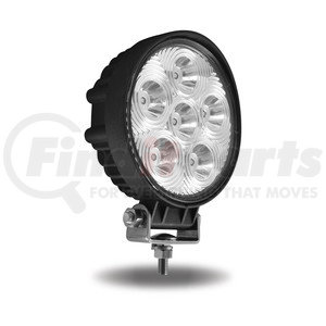 """TLED-U19 by TRUX - 5"""" Universal Round LED Spot Work Lamp (6 Diodes 