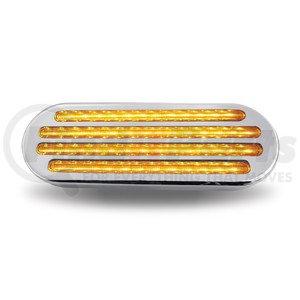 TLED-FOCA by TRUX - Flatline Clear Amber Turn Signal & Marker LED Oval Light