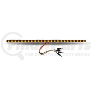 """TLED-SXAP by TRUX - 17"""" Dual Revolution Amber Marker to Purple Auxiliary LED Undermount Strip"""