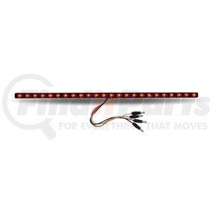 """TLED-SXRP by TRUX - 17"""" Dual Revolution Red Marker to Purple Auxiliary LED Undermount Strip"""
