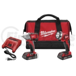 2693-22 by MILWAUKEE - M18™ Cordless Impact Wrench and Work Light Combo Kit