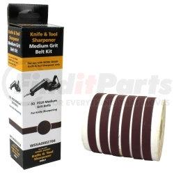 """WSSA0002704 by DRILL DOCTOR - P220 Medium Grit Assirtnebt Belt Kit, 1/2"""" x 12"""""""