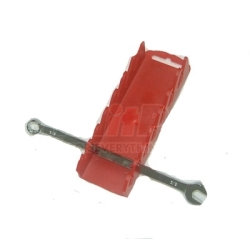 5020 by PROTOCO ENTERPRISES - 7pc Stubby Wrench Rack Red