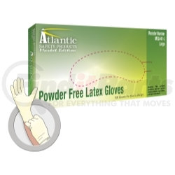 MEL-XS by ATLANTIC SAFETY PRODUCTS - Market Edition Powder Free Latex Gloves, X-Small