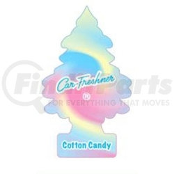U1P-10282 by CAR FRESHENER - Little Tree Car Freshener, Cotton Candy, One per Pack