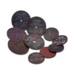 35509 by CGW ABRASIVE - Type 1,  Aluminum Oxide Cutoff Wheels for Die Grinder / Mandrel 4X1/16X3/8 T1 A36-R-BF