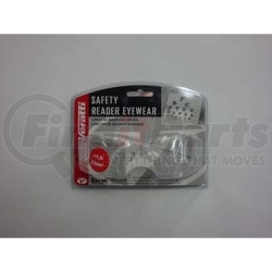 05777016 by ENCON - Safety Glasses - Veratti 2000 Readers Clear Lens, Enfog Diopter +1.0