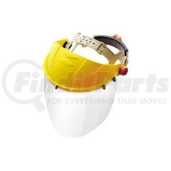 """675 by GATEWAY SAFETY - Replacement Faceshield for Venom, Clear, 15-1/2"""" x 8"""""""