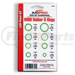 ORNG-2 by INTERDYNAMICS - O-Ring Kit (240 Count - 8Pc As