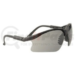 16GB83 by GATEWAY SAFETY - Safety Glasses, Scorpion, Gray Lens, Black Frame, Adjustable Length Temples, Safety Retainer
