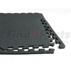 """AFWM6 by LARIN CORPORATION - Anti Fatigue Work Mats, 3/8"""" Thick Foam, Water Resistant, Interlocking, 24 Square Feet per Pack"""