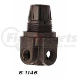 S1146 by MILTON INDUSTRIES - Glass Filled Nylon Low Press Mini Regulator