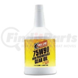 57904 by RED LINE SYNTHETIC OIL - 75W90 GL-5 Gear Oil, qt