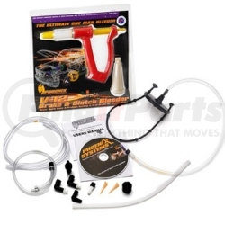 2004-MC by PHOENIX SYSTEMS - V12 DIY Brake Bleeder Set, Motorcycle Adapter, One Person Operation, with Reverse Fluid Injection