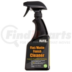 FM 11506 by FLITZ - Flat/Matte Finish Cleaner - 16 oz Spray Bottle