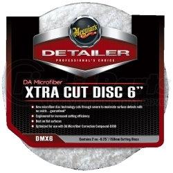 """DMX6 by MEGUIAR'S - DA Microfiber Xtra Cut Disc, 6"""""""