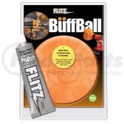 "PB101-50 by FLITZ - 5"" Large Buff Ball with Free Flitz Polish 1.76"