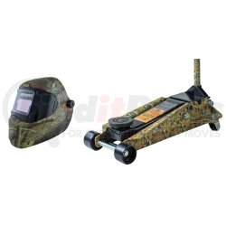 29037SPCAMO by OMEGA - 3.5 Ton Service Jack with Free 3011704 Helmet