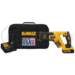 DCS367P1 by DEWALT - 20V Max* XR Brushless Compact Reciprocating Saw Kit (5.0 Ah)