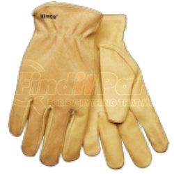 94WA-XL by KINCO INTERNATIONAL - Grain & Suede Pigskin Driver Glove, X-Large