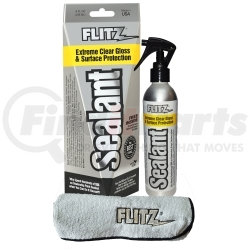 CS 02908 by FLITZ - Sealant 8 oz Spray Bottle with Free Microfiber