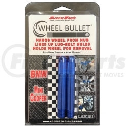 WB2-14125BLUE by ACCESS TOOLS - Wheel Bullet 14x1.25 2 PK