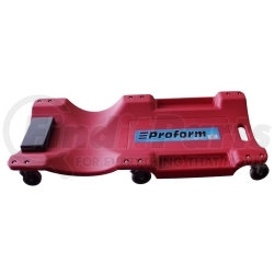 """1-300 by TRAXION, INC. - 40"""" BLOW MOLD CREEPER (RED)"""